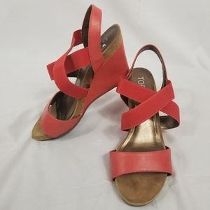 Toetos Strappy Wedge Sandals